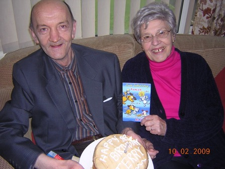 Olive Bucknell_and_Terry_Bucknall_in_2009